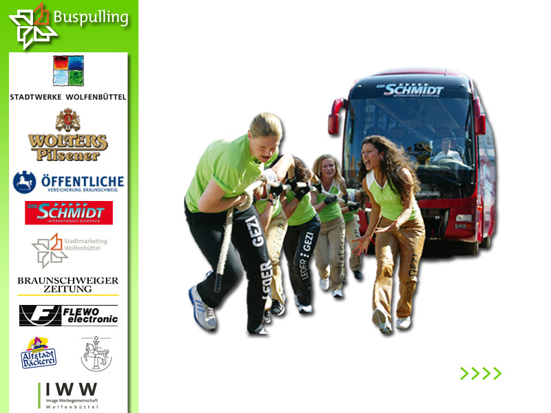 Safety-Kid´s beim Buspulling